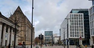 圣彼得广场,曼彻斯特 免版税库存照片