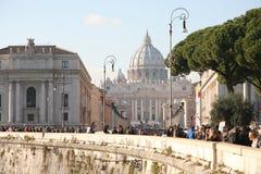 圣彼得罗在罗马 库存图片