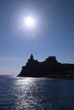 圣彼得罗教会, Portovenere 免版税库存图片