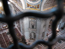 圣彼得罗罗马 库存图片