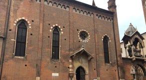 圣彼得罗Martire教会在维罗纳 库存图片