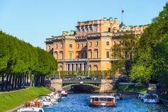 圣彼德堡在夏天 库存图片