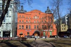 圣彼德堡城市视图  库存照片