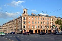 圣彼德堡城市视图  免版税图库摄影