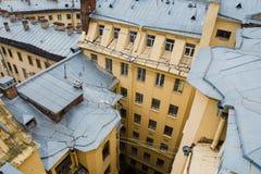 圣彼德堡墙壁  免版税库存照片