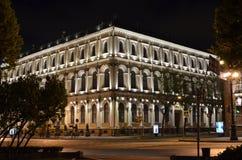 圣彼德堡夜光  库存照片