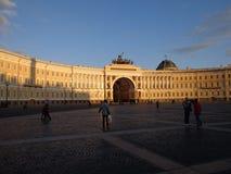 圣彼德堡宫殿正方形俄罗斯 图库摄影