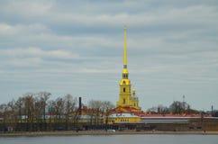 圣彼德堡市游览 免版税库存照片
