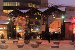 圣彼德堡建筑学  Sennaya广场 免版税库存图片