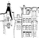 圣彼德堡的都市后院 免版税库存图片