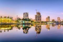 圣彼德堡,佛罗里达地平线 库存照片