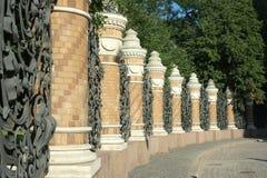 圣彼德堡,俄国。 库存图片