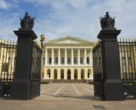 圣彼德堡,俄国博物馆(迈克尔的宫殿) 免版税图库摄影