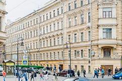 圣彼德堡,俄罗斯历史  城市在1703年建立了,现在是seco 库存图片