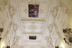 圣彼德堡,俄罗斯- 2014年10月6日:内部一个t 库存图片