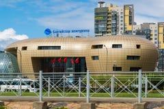 圣彼德堡,俄罗斯- 6月03 2017年 商业中心波罗地珍珠 免版税图库摄影