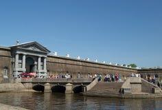 圣彼德堡,俄罗斯- 2016年6月01日:彼得和保罗堡垒 免版税图库摄影