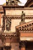 圣彼德堡,俄罗斯建筑学  圣徒Isaak ` s大教堂 库存照片