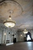 圣彼德堡,俄罗斯建筑学  帕尔马画廊内部  库存图片