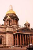 圣彼德堡,俄罗斯建筑学  库存照片