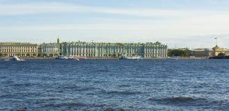 圣彼德堡,冬天宫殿(埃尔米塔日博物馆) 免版税库存图片