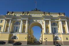 圣彼德堡,编译参议院和宗教会议 免版税库存照片