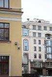 圣彼德堡,露天庭院  图库摄影