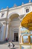 圣彼德堡 俄国 圣凯瑟琳天主教  库存照片