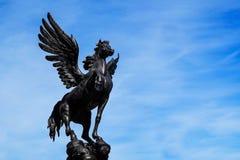 圣彼德堡 俄国 05 27 2018年 马佩格瑟斯的雕塑 库存照片