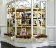 圣彼德堡 俄国 06 10 纪念品和礼物2018家商店  免版税库存图片