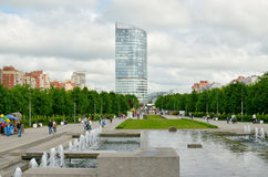 圣彼德堡300周年公园  免版税库存照片