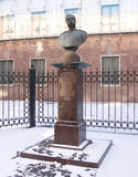 圣彼德堡 对皇帝亚历山大二世的纪念碑(1818-1881) 图库摄影