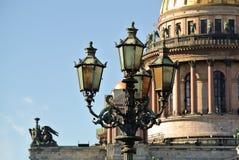 圣彼德堡 美好的大教堂isaac圣徒查阅 免版税图库摄影