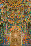 圣彼德堡主要清真寺门的装饰  库存图片