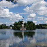 圣彼德堡 Tsarskoe Selo 库存照片