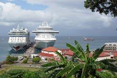 圣徒乔治,格林纳达,加勒比 免版税库存图片