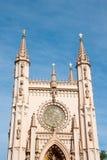 圣徒亚历山大・涅夫斯基教会在Peterhof,俄罗斯。 图库摄影