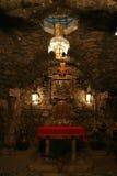 圣徒亚拿尼亚教堂  免版税图库摄影