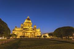 圣徒以撒大教堂圣彼得堡俄罗斯 免版税图库摄影