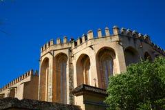 圣徒伊西多里园地修道院在桑蒂蓬塞 库存照片