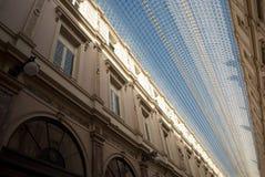 圣徒休伯特画廊在布鲁塞尔(比利时) 免版税库存照片