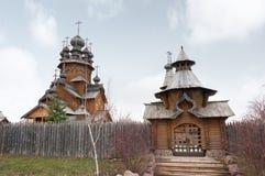 圣徒修道院Svyatogorskaya月桂树 库存照片