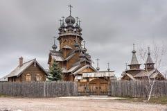 圣徒修道院Svyatogorskaya月桂树 免版税库存照片