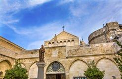 圣徒凯瑟琳诞生教会伯利恒约旦河西岸巴勒斯坦 免版税库存图片