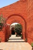 圣徒凯瑟琳(圣卡塔利娜),阿雷基帕,秘鲁修道院  图库摄影