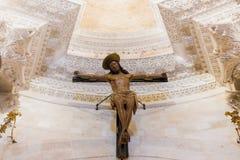 圣徒分裂的Domnius大教堂,克罗地亚内部  免版税库存照片