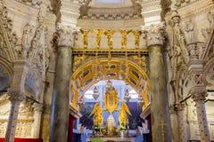 圣徒分裂的Domnius大教堂,克罗地亚内部  免版税图库摄影