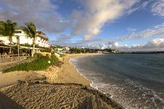 圣徒吉勒斯海滩, La雷乌尼翁冰岛,法国 免版税库存照片