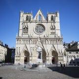 圣徒吉恩大教堂 库存图片