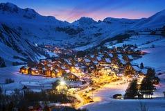 圣徒吉恩d'Arves,阿尔卑斯,法国 库存照片